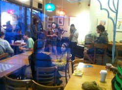 Mad Habits Peform at the Cup and Top Cafe